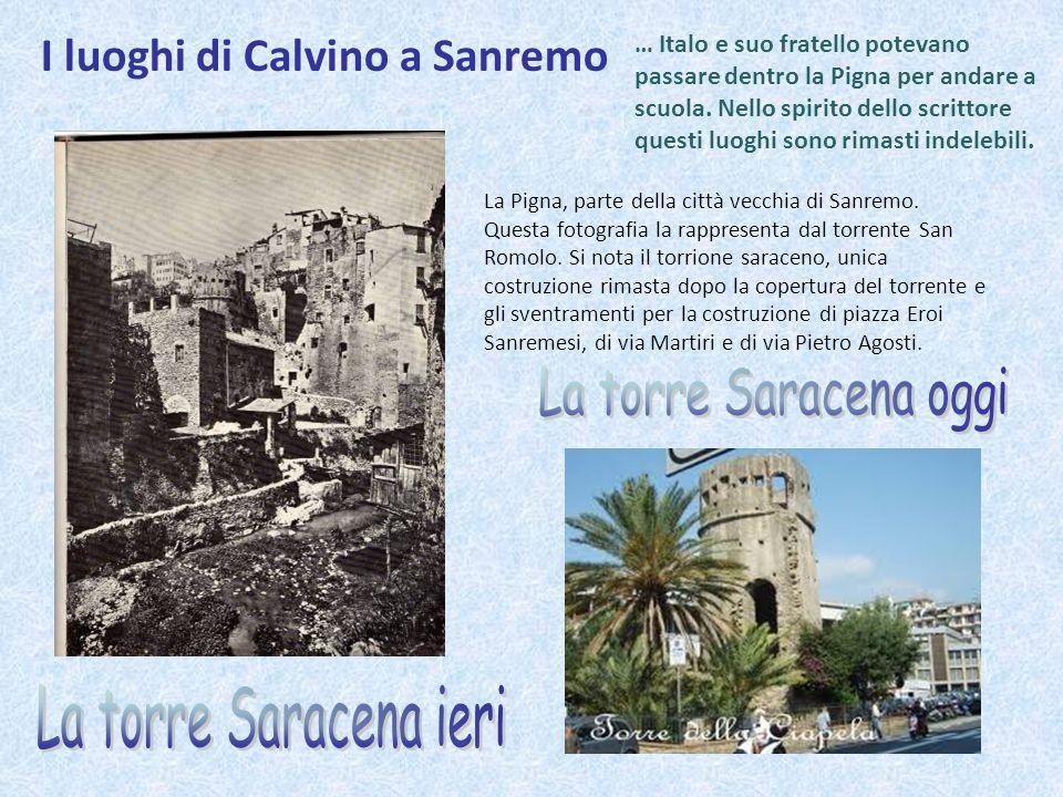 I luoghi di Calvino a Sanremo