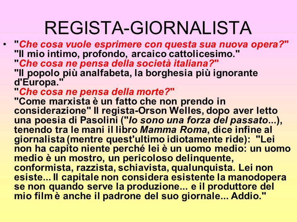 REGISTA-GIORNALISTA