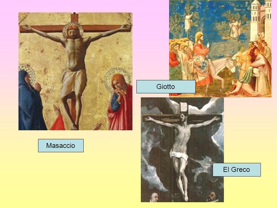 Giotto Masaccio El Greco