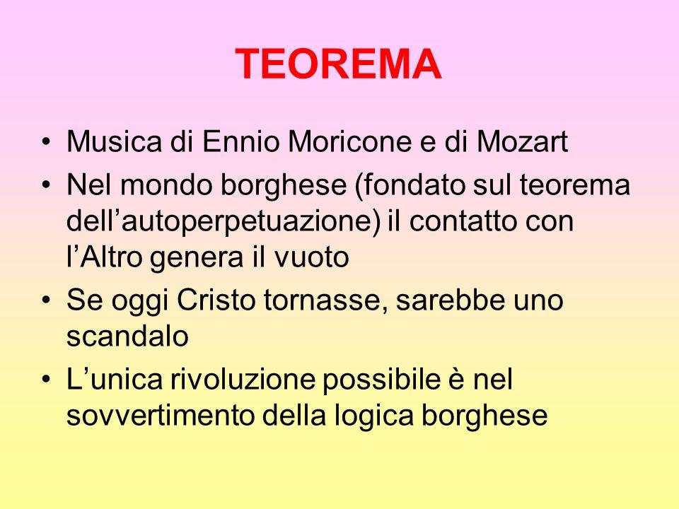 TEOREMA Musica di Ennio Moricone e di Mozart
