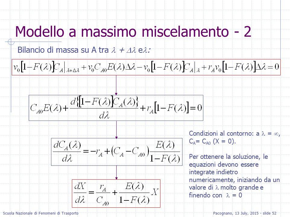 Modello a massimo miscelamento - 2