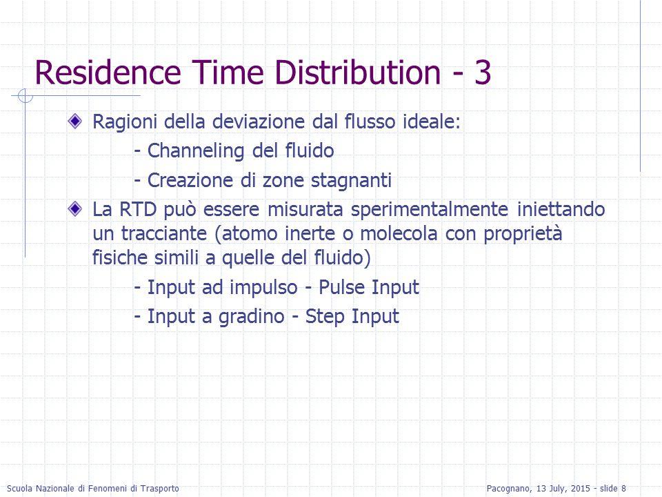 Residence Time Distribution - 3