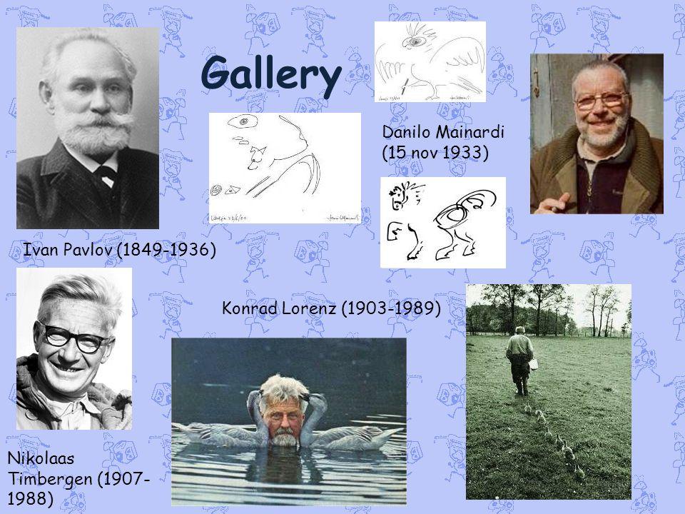 Gallery Danilo Mainardi (15 nov 1933) Ivan Pavlov (1849-1936)