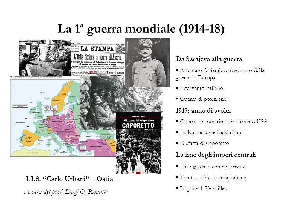 La 1ª guerra mondiale (1914-18)