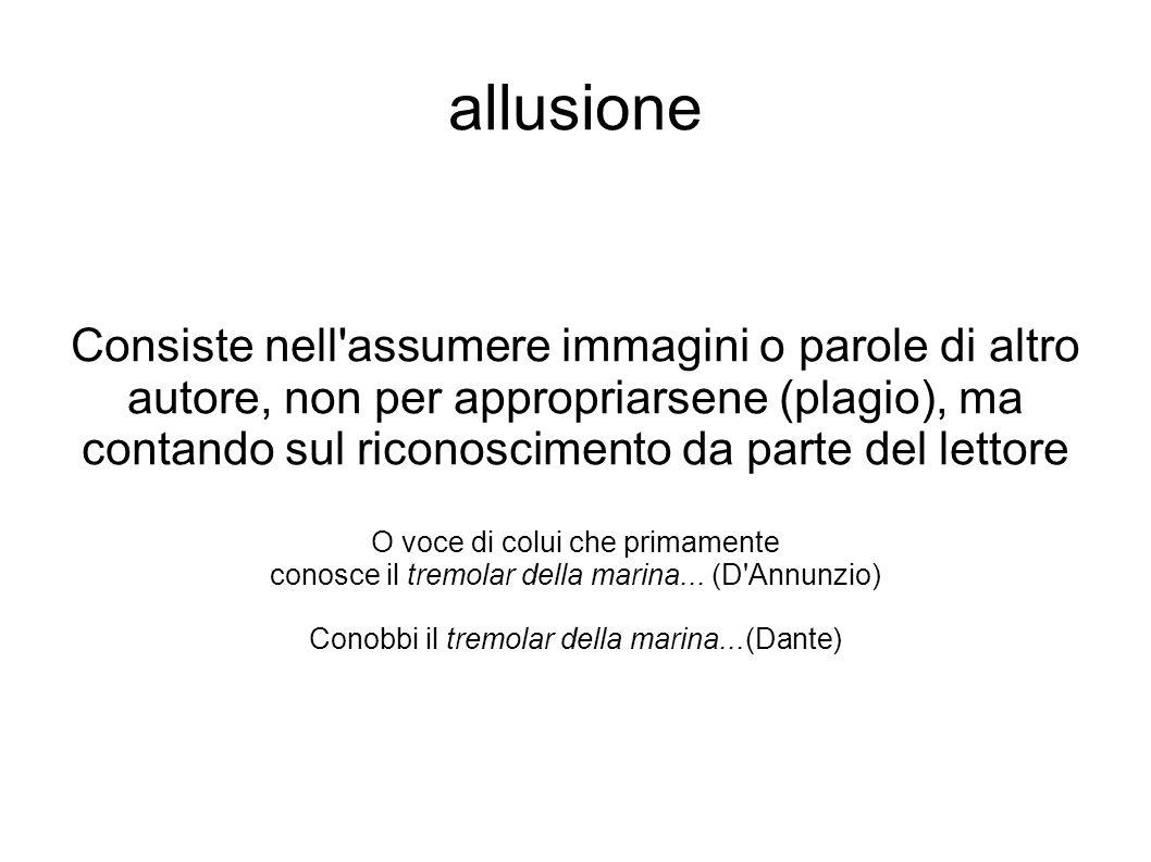 allusione