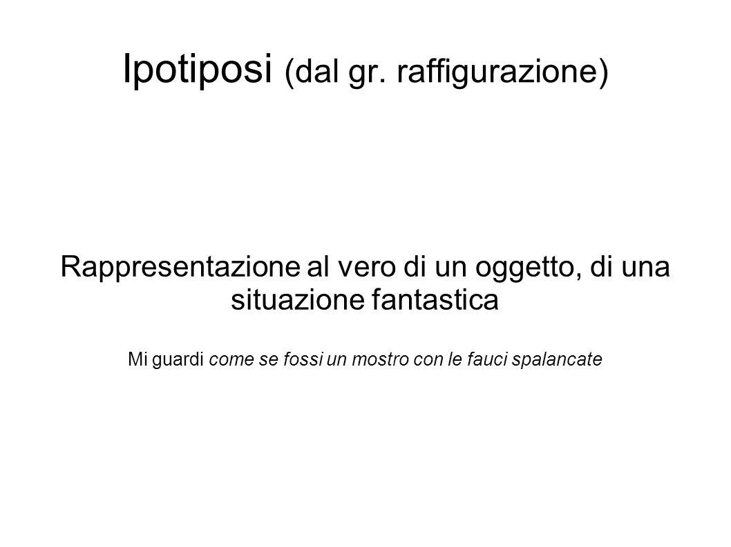 Ipotiposi (dal gr. raffigurazione)
