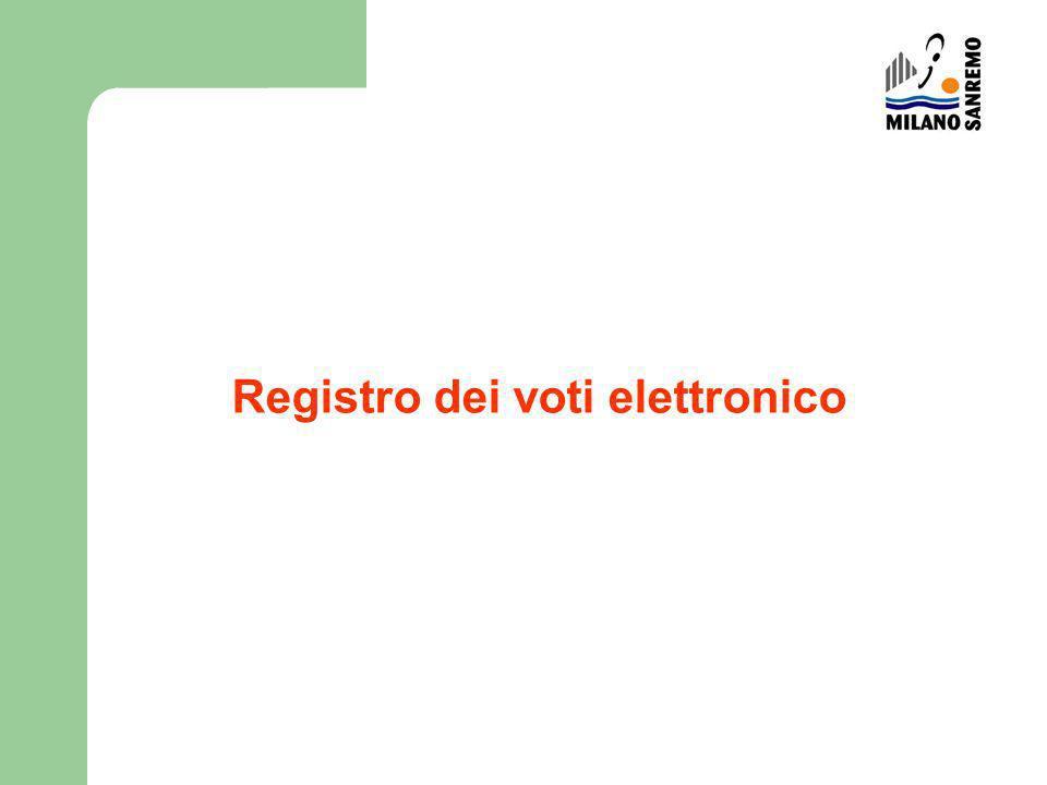 Registro dei voti elettronico