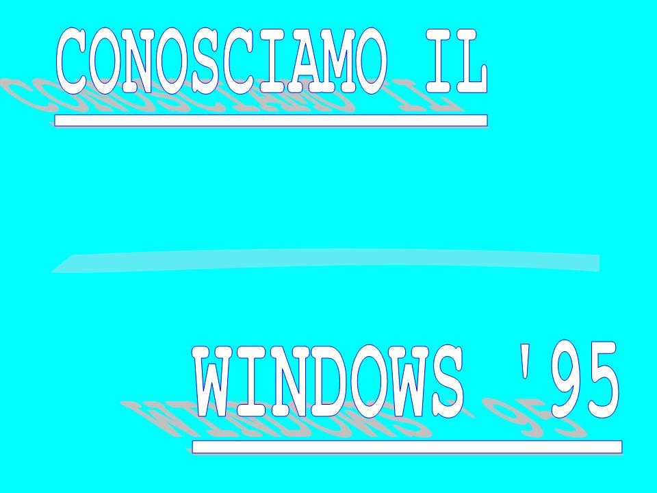 CONOSCIAMO IL WINDOWS 95
