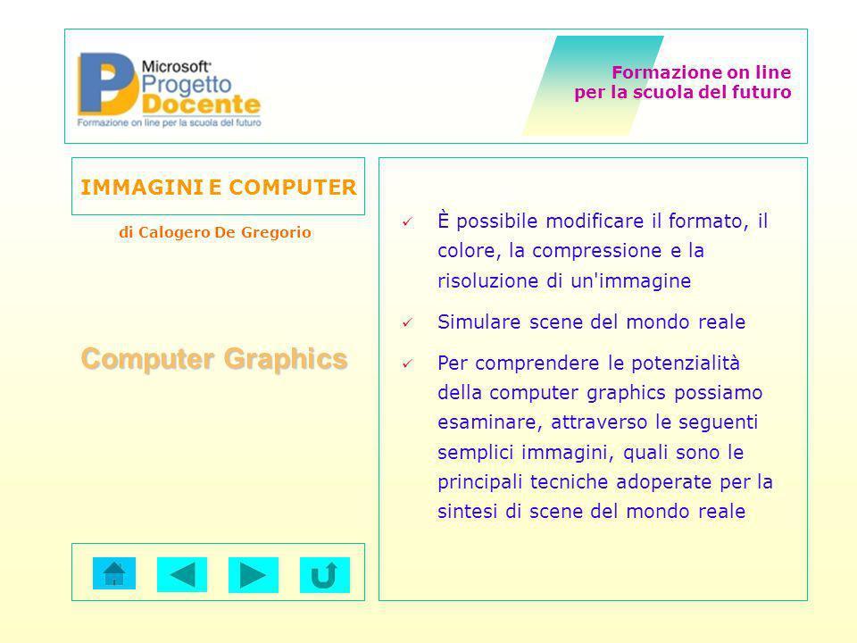 È possibile modificare il formato, il colore, la compressione e la risoluzione di un immagine