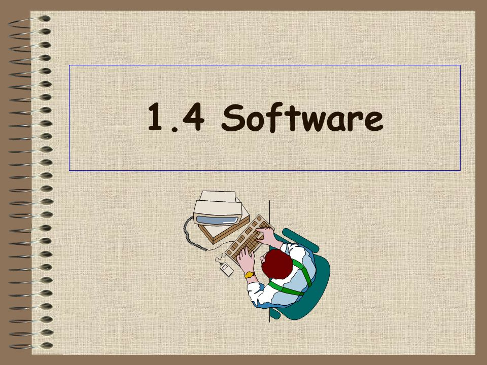 1.4 Software