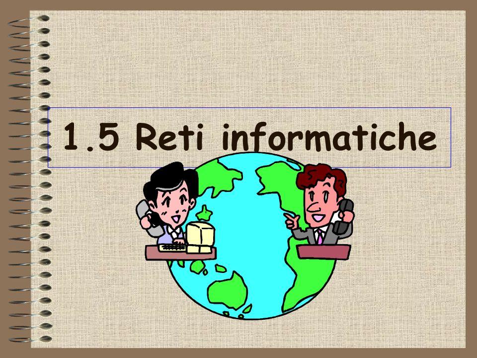 1.5 Reti informatiche