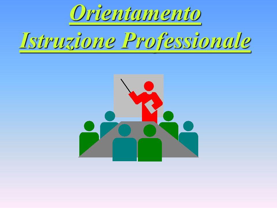Orientamento Istruzione Professionale