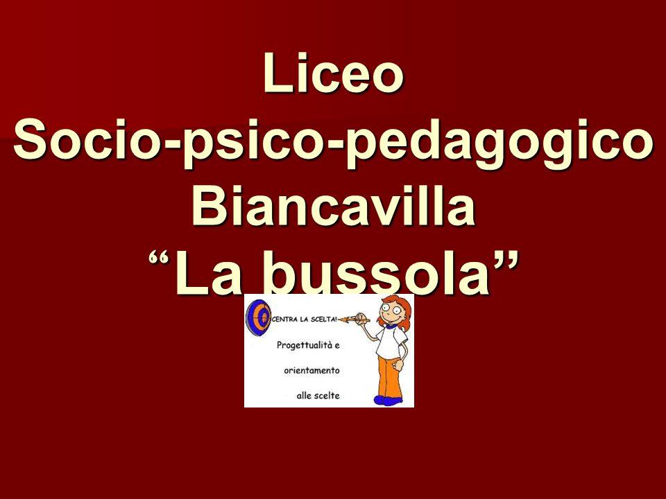 Liceo Socio-psico-pedagogico Biancavilla La bussola
