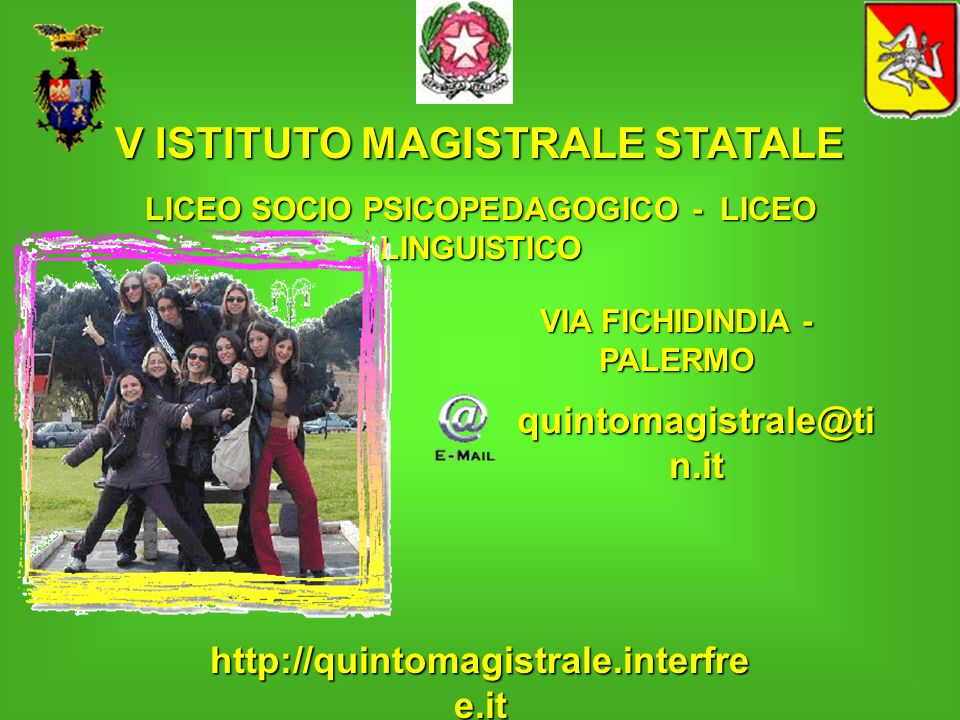 V ISTITUTO MAGISTRALE STATALE