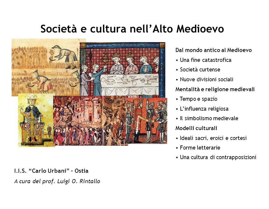 Società e cultura nell'Alto Medioevo