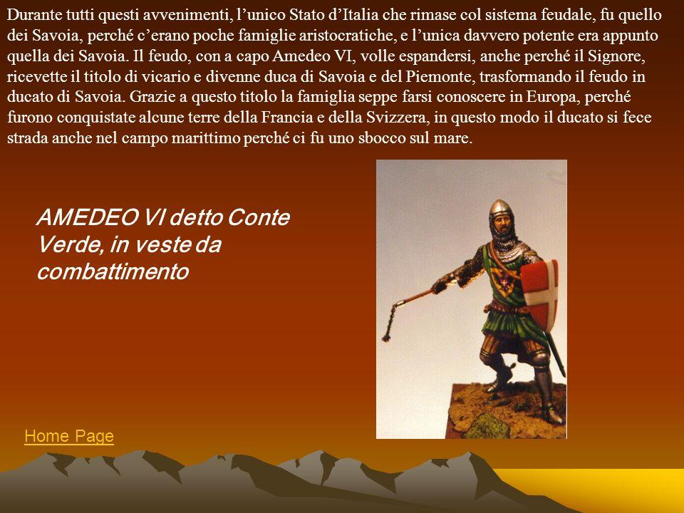 AMEDEO VI detto Conte Verde, in veste da combattimento