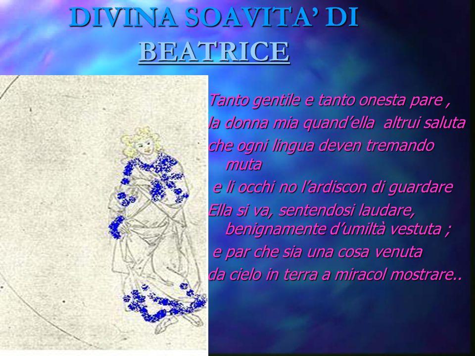 DIVINA SOAVITA' DI BEATRICE