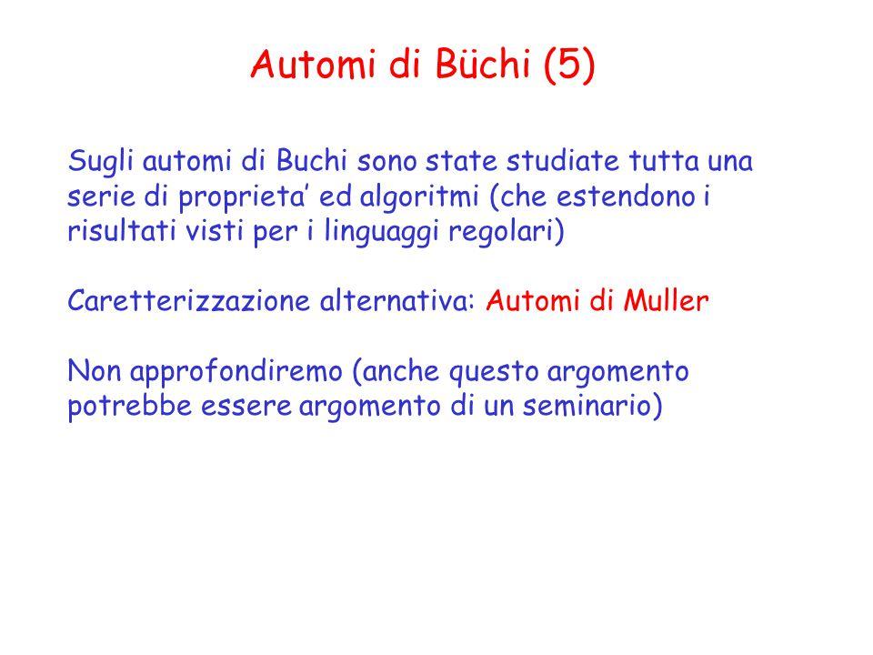 Automi di Büchi (5)