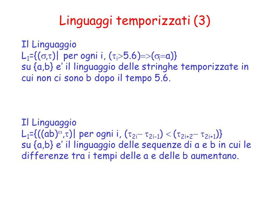 Linguaggi temporizzati (3)