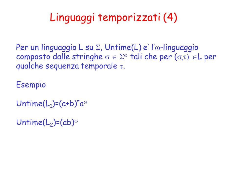 Linguaggi temporizzati (4)