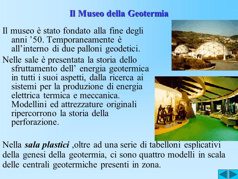 Il Museo della Geotermia