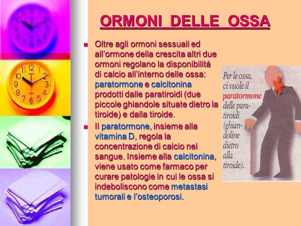 ORMONI DELLE OSSA