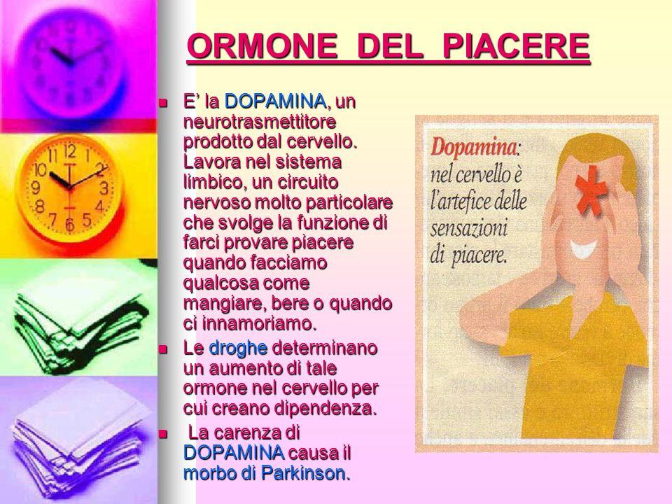 ORMONE DEL PIACERE