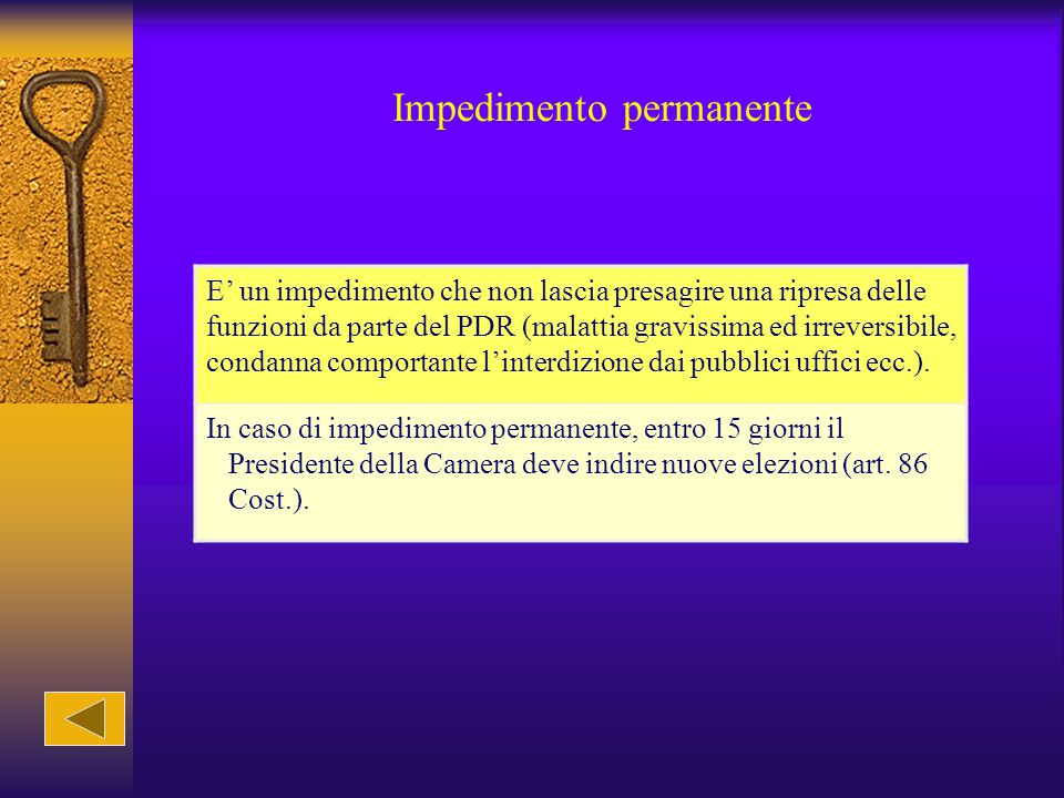 Impedimento permanente