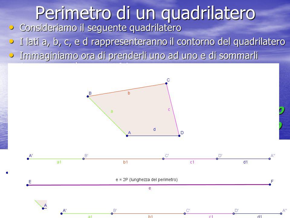 Perimetro di un quadrilatero