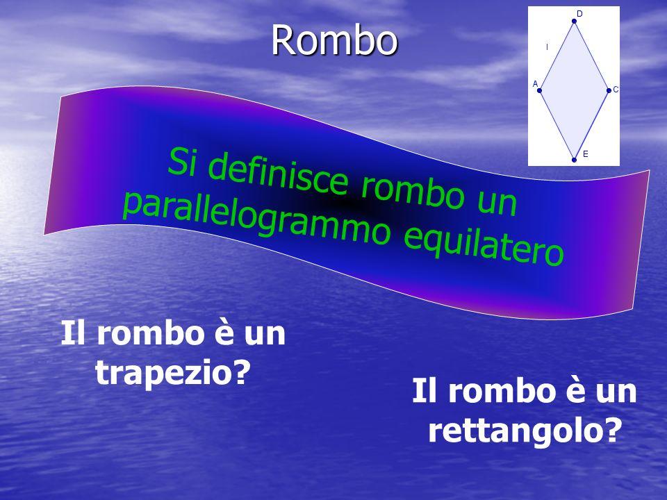 Il rombo è un rettangolo