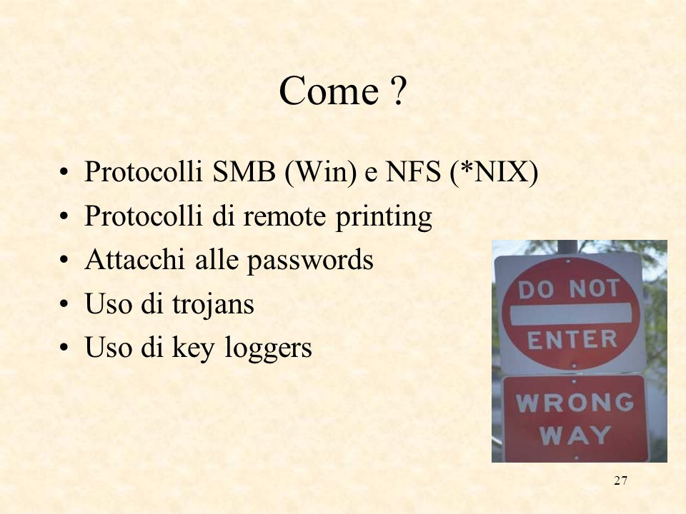 Come Protocolli SMB (Win) e NFS (*NIX) Protocolli di remote printing