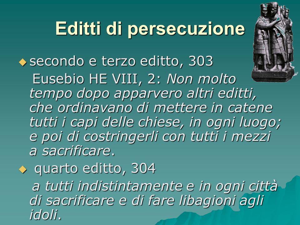 Editti di persecuzione