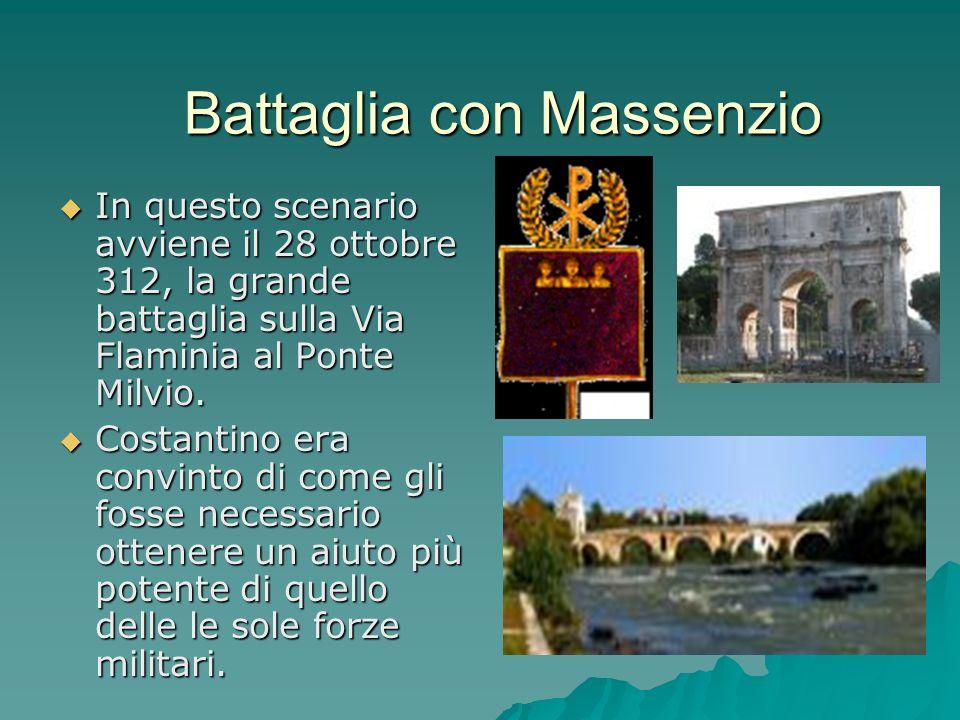 Battaglia con Massenzio