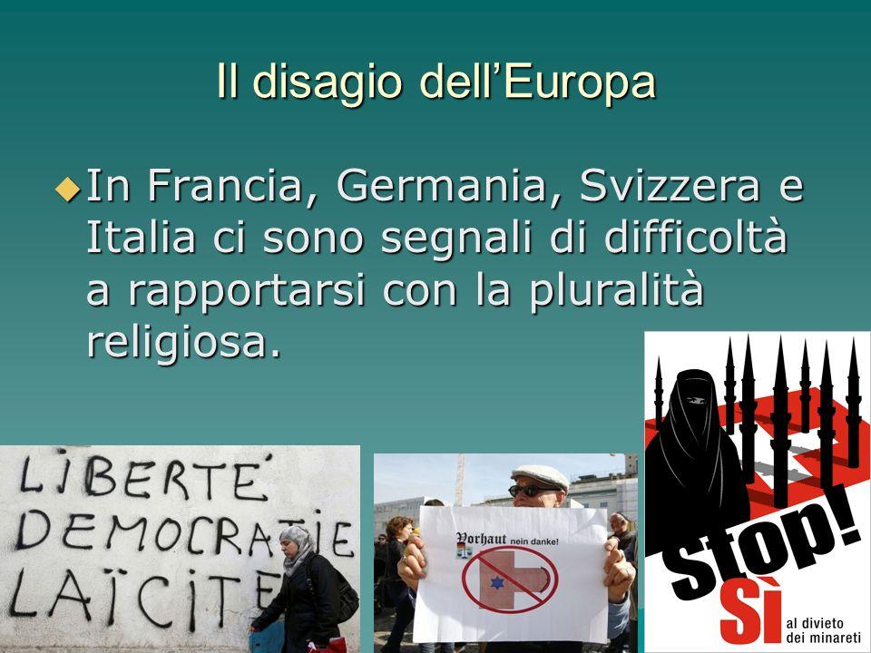 Il disagio dell'Europa