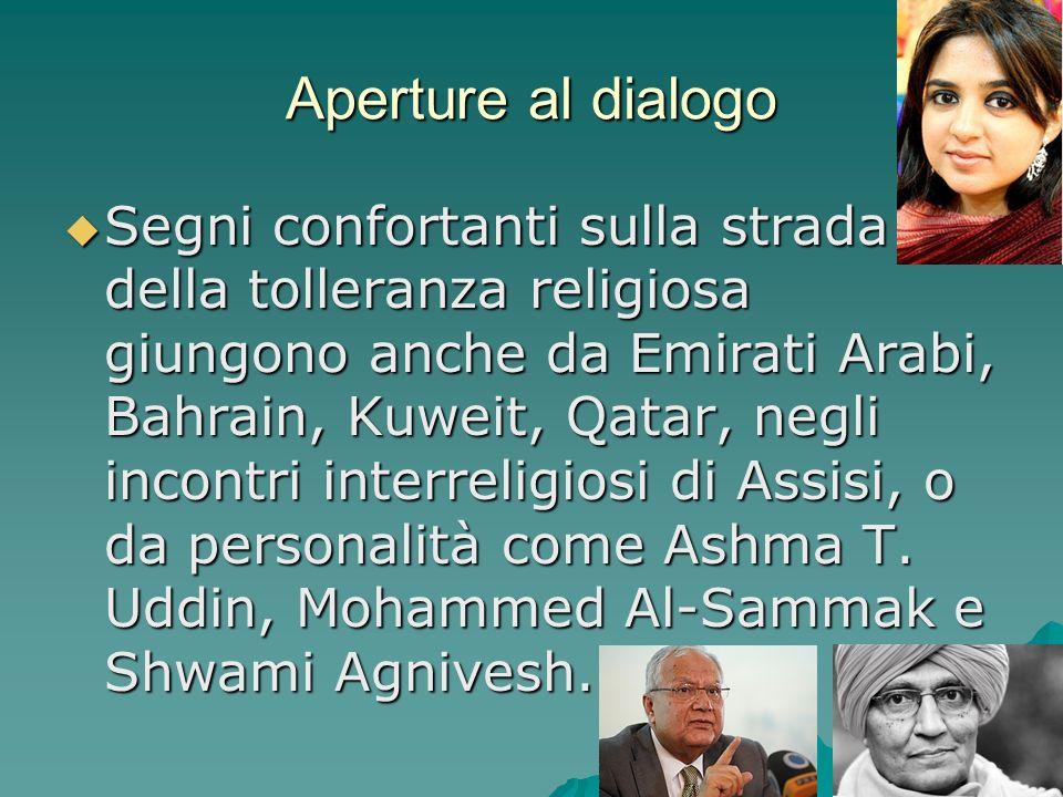 Aperture al dialogo