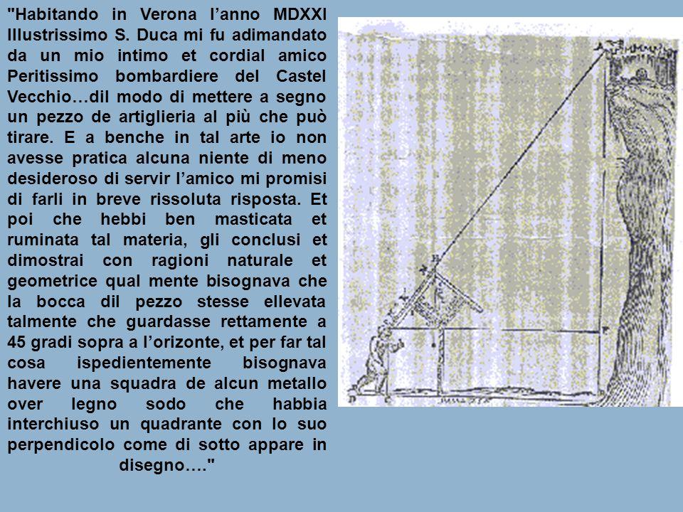 Habitando in Verona l'anno MDXXI Illustrissimo S