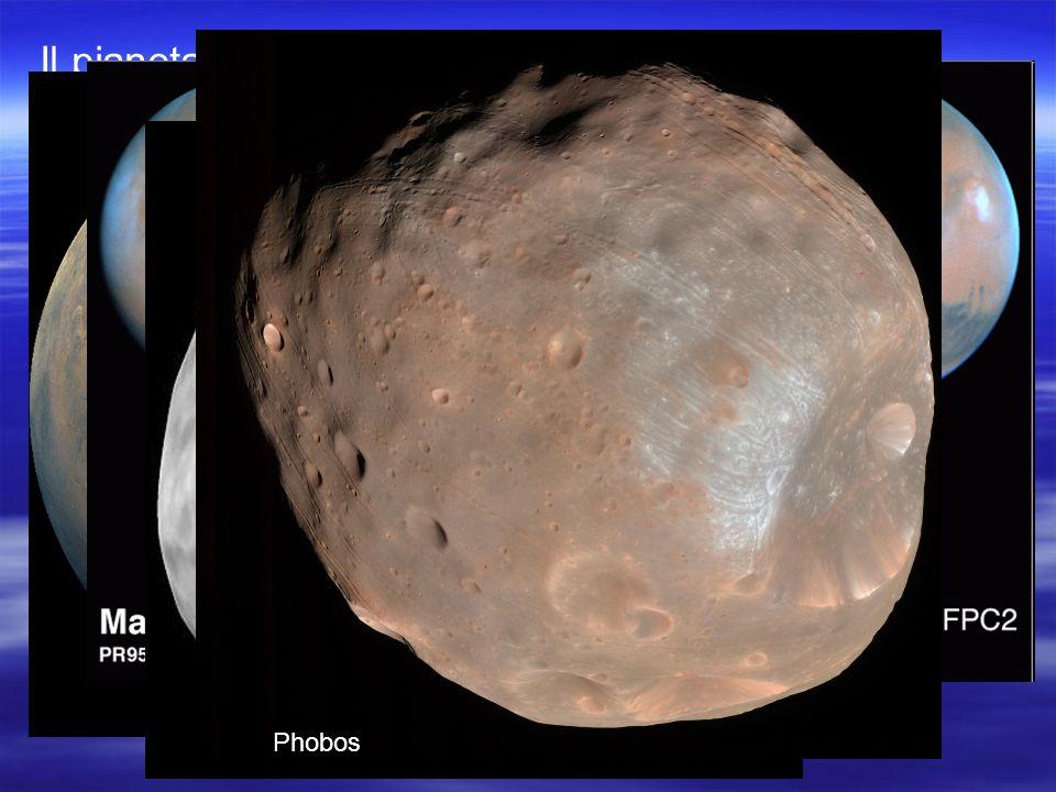 Il pianeta ha due satelliti Phobos e Deimos