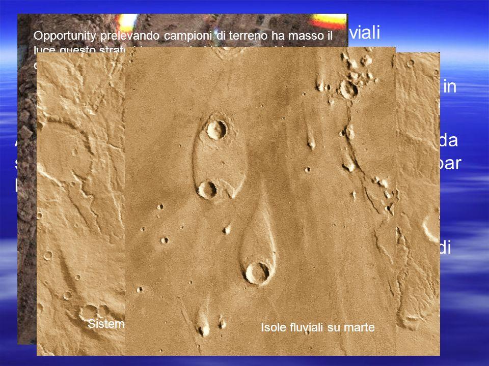 Ci sono su Marte alcuni antichi letti fluviali disseccati con evidenti segni di erosione