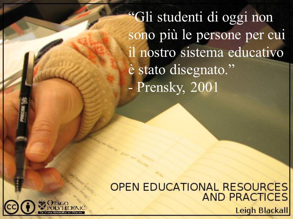 Gli studenti di oggi non sono più le persone per cui il nostro sistema educativo è stato disegnato.