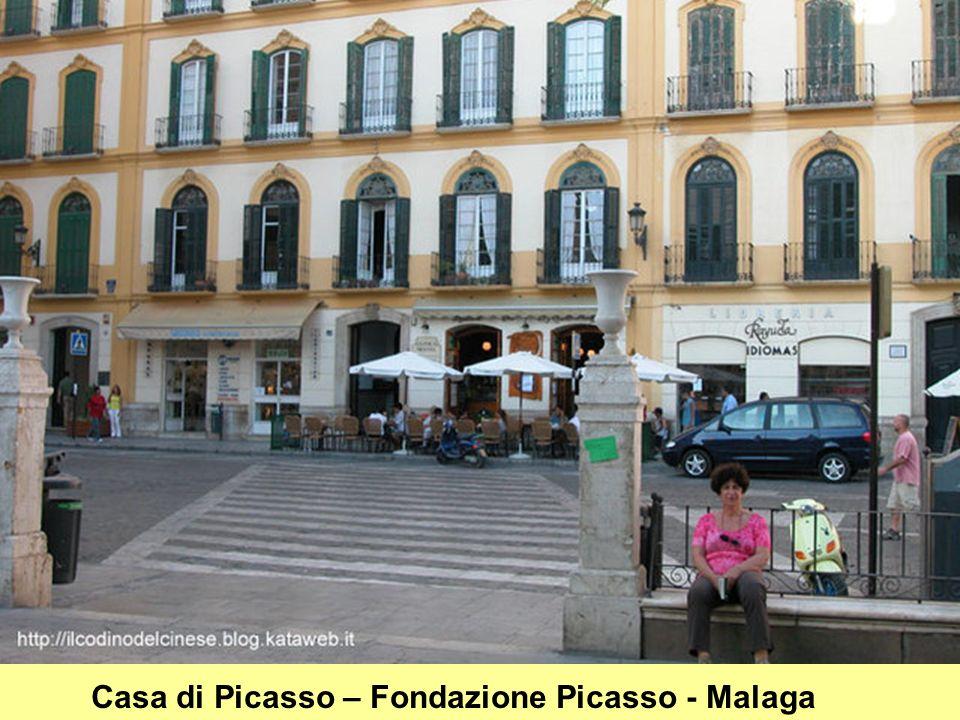 Casa di Picasso – Fondazione Picasso - Malaga