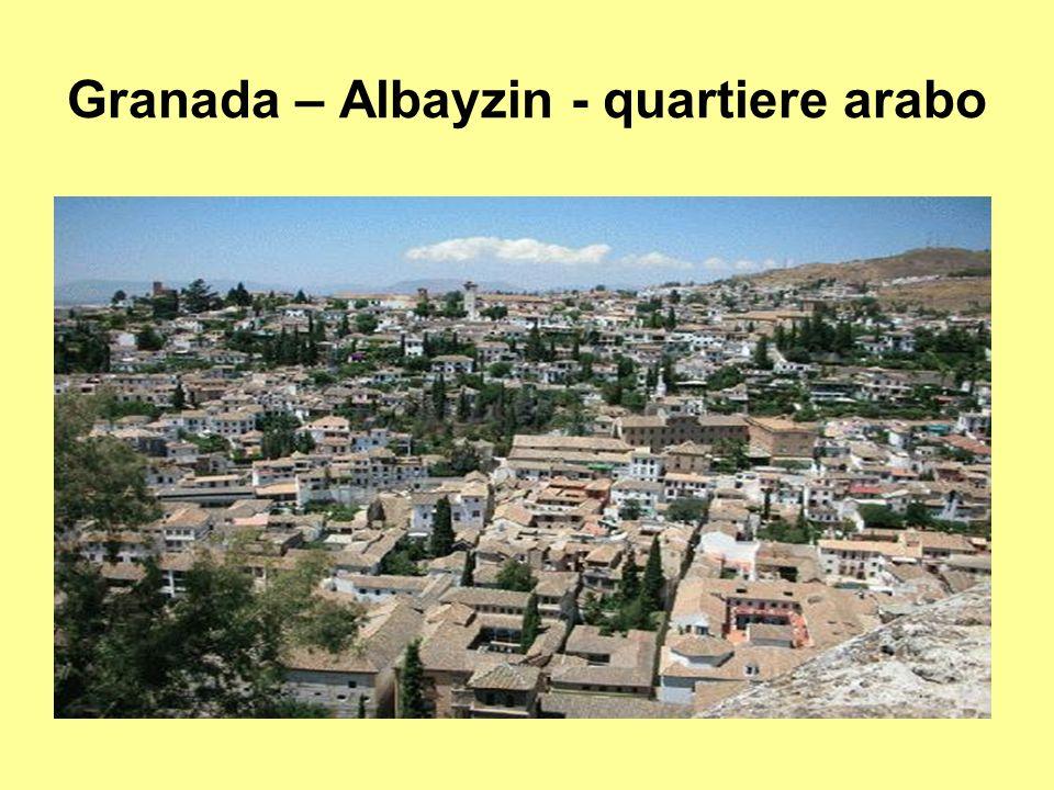 Granada – Albayzin - quartiere arabo