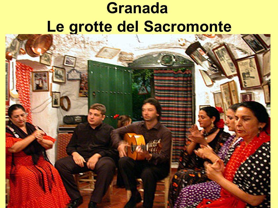 Granada Le grotte del Sacromonte
