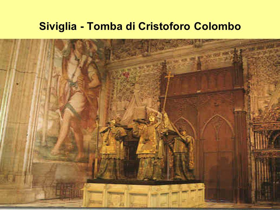 Siviglia - Tomba di Cristoforo Colombo