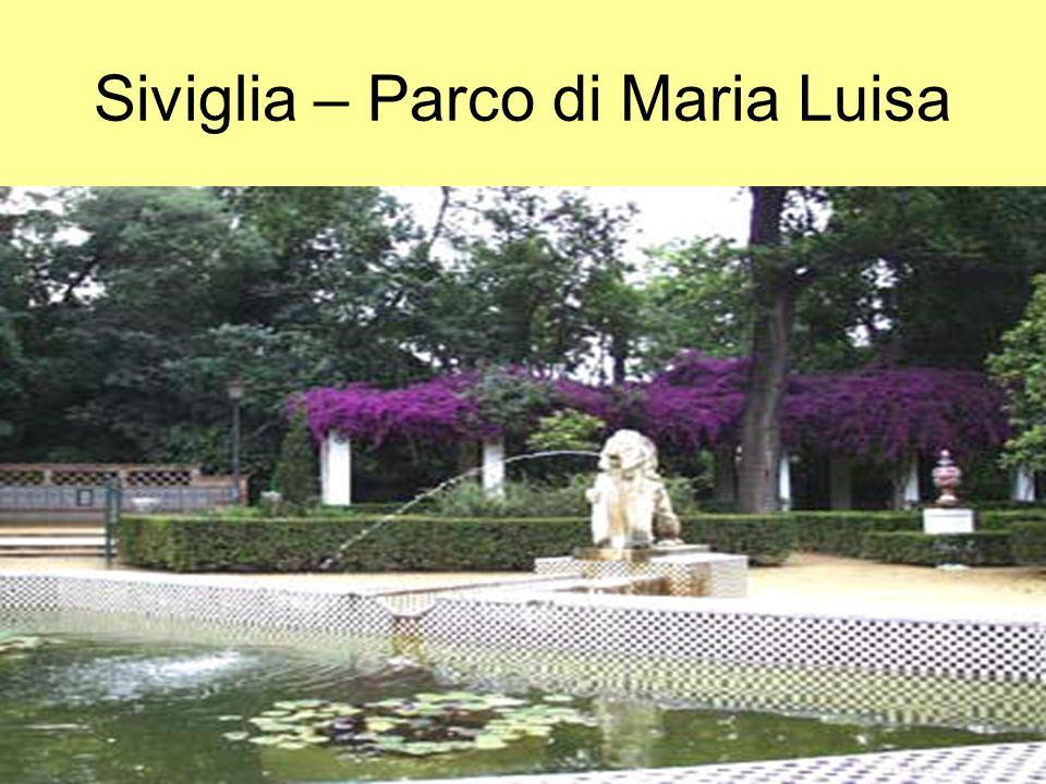 Siviglia – Parco di Maria Luisa