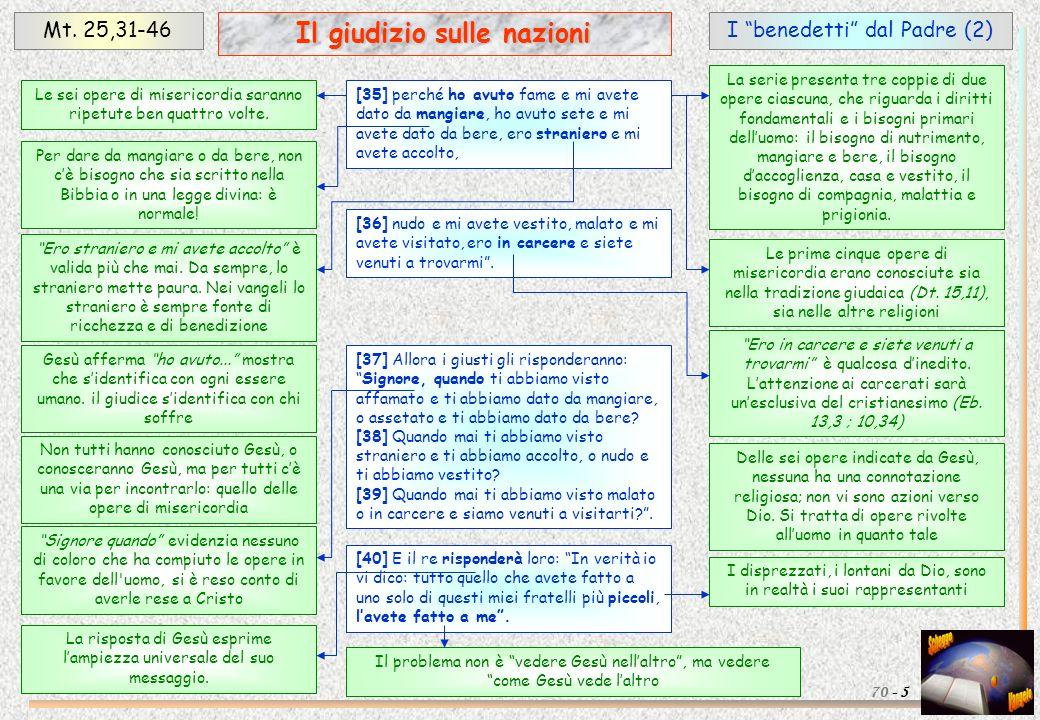 Il giudizio sulle nazioni