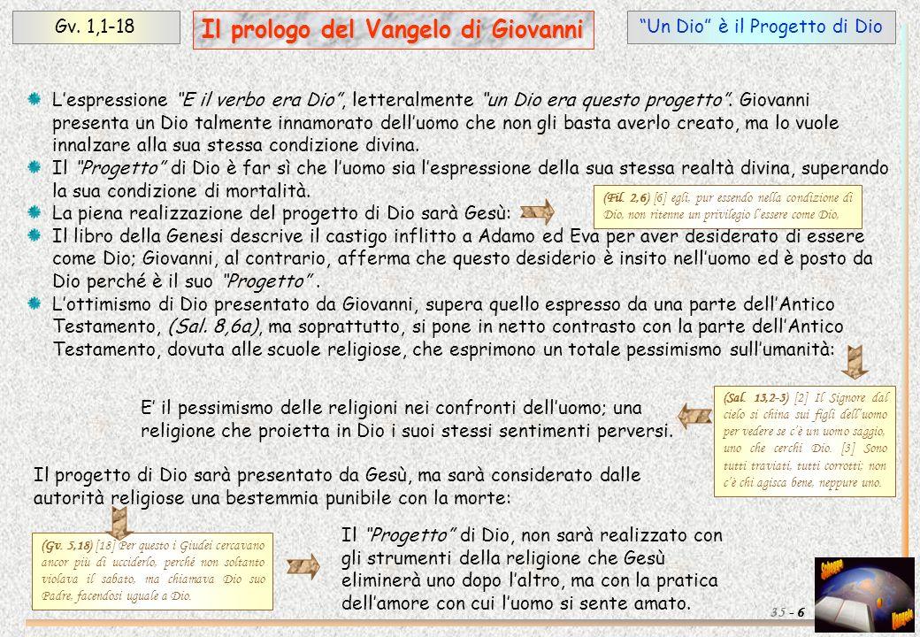 Il prologo del Vangelo di Giovanni