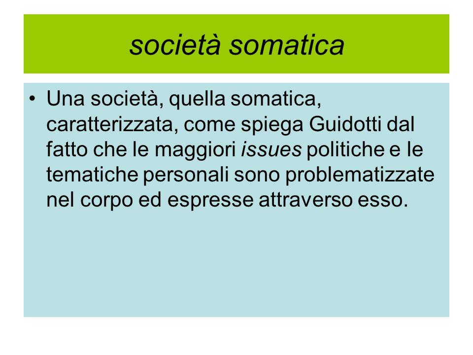 società somatica