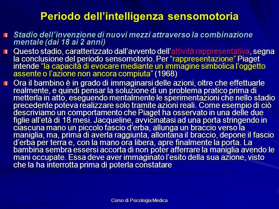 Periodo dell'intelligenza sensomotoria
