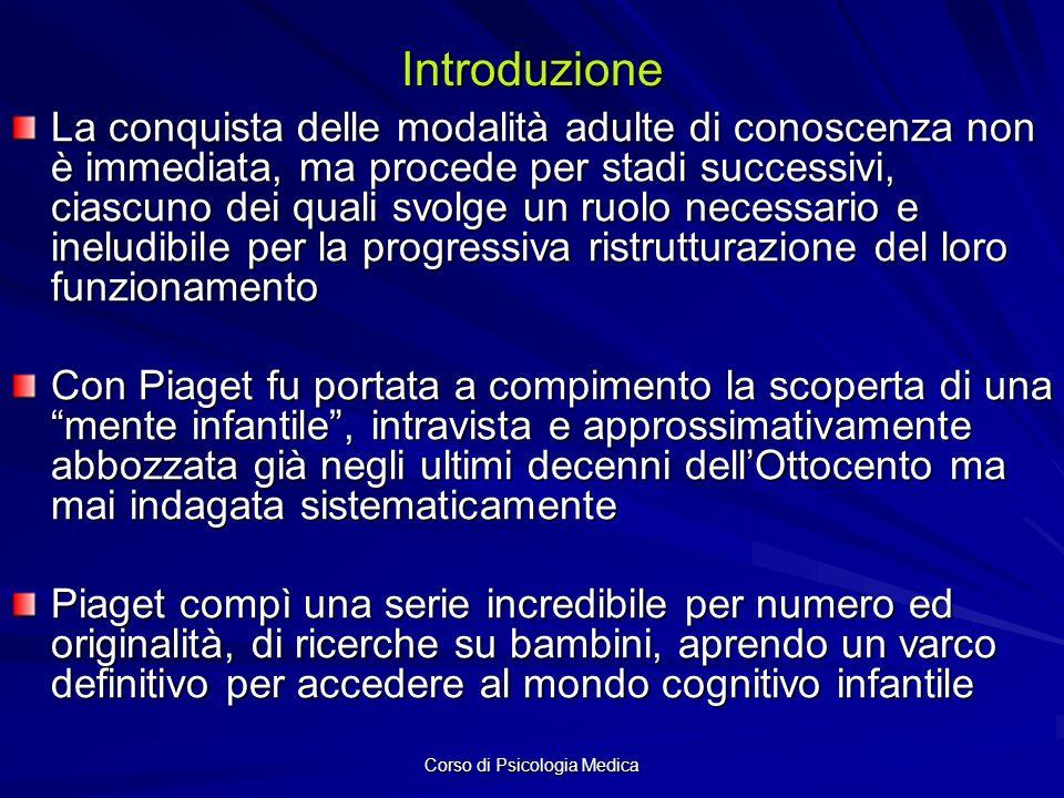 Corso di Psicologia Medica