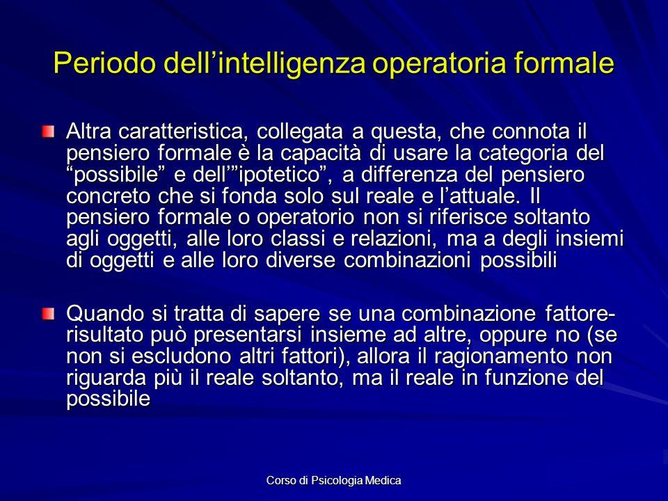 Periodo dell'intelligenza operatoria formale